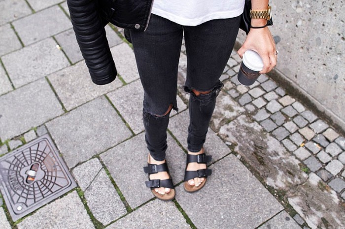 ripped jeans black starbuck streetstyle caseys collection