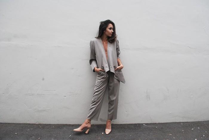issey miyake suit marni heels celine clutch ny fashion blog