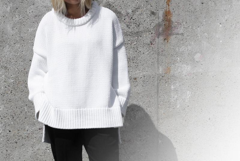 minimal-fashion-blog_oversized-white-knit_zara-international_detail-shot