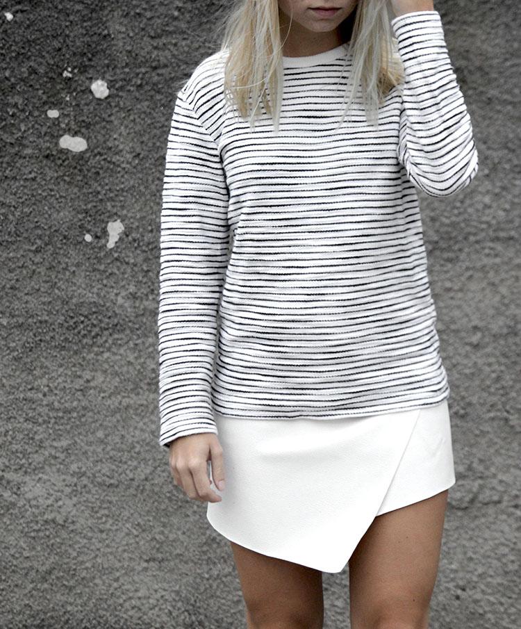 asymmetric-white-leather-skirt_striped-sweater-by-zara(2) copy