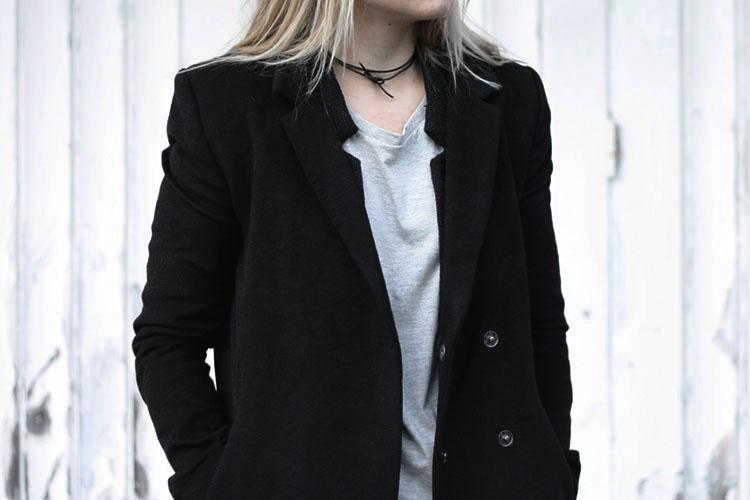 double-coat_grey-basic-tee_leather-necklace