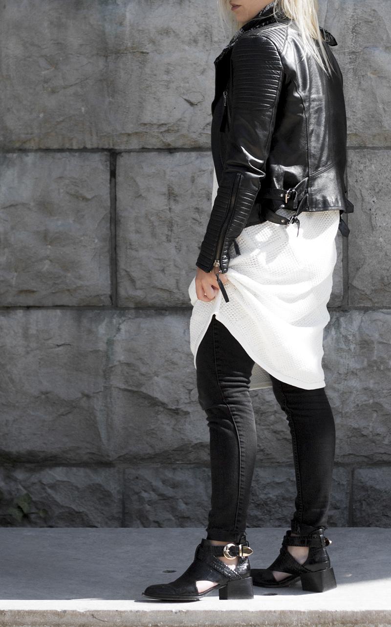 vivian graf cut out boots black bandana leather biker