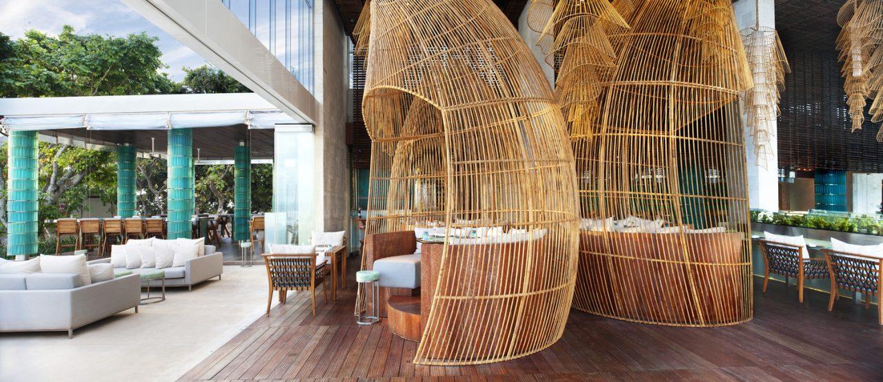 w bali hotel seminyak starfish bloo restaurant