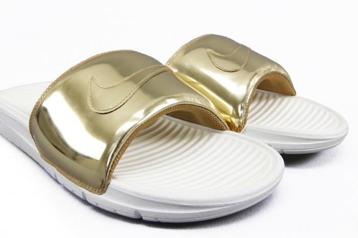 73ac5a15452b Nike Benassi Slides Liquid Metal - Blog and The City